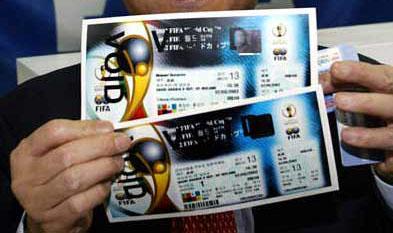 世界杯球票昨天到津 800球迷将赴韩助阵-,